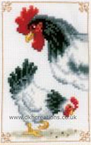 Chickens  Cross Stitch Kit